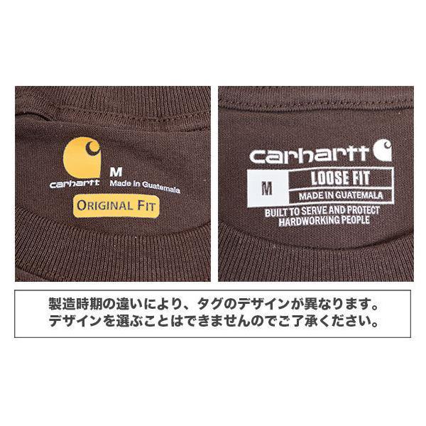 カーハート Carhartt K87 ワークウェア ポケット付きTシャツ 半袖 ミッドウェイト(メール便可) gb-int 03
