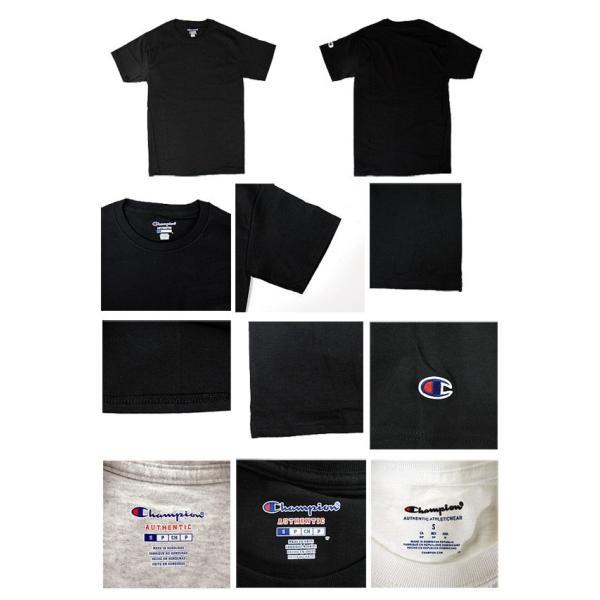 チャンピオン Champion Tシャツ クルーネック 無地 半袖 USAモデル  6.1 oz Short Sleeve Tee (メール便対応)|gb-int|02