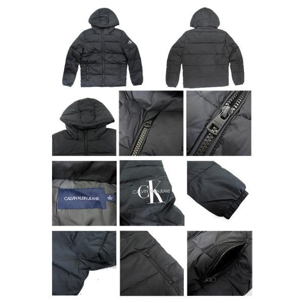 Calvin Klein Jeans カルバンクラインジーンズ 41J1541 メンズ パファージャケット PUFFER JACKET ダウンジャケット(メール便不可)|gb-int|02