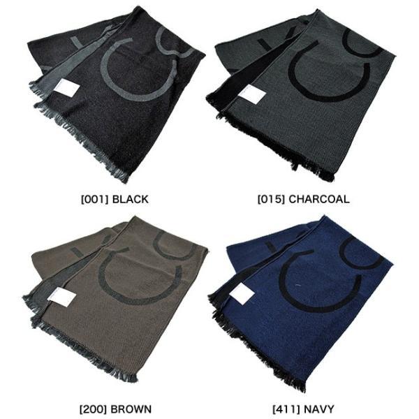 Calvin Klein カルバンクライン ツイル織 ロゴ スカーフ マフラー HKC73621 WOVEN TWILL LOGO SCARF|gb-int|03