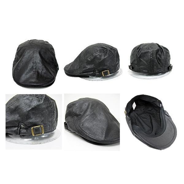 大きいサイズ ビッグサイズ クラックレザーハンチングキャップ 帽子 ct-18bg-2002 20074|gb-int|02