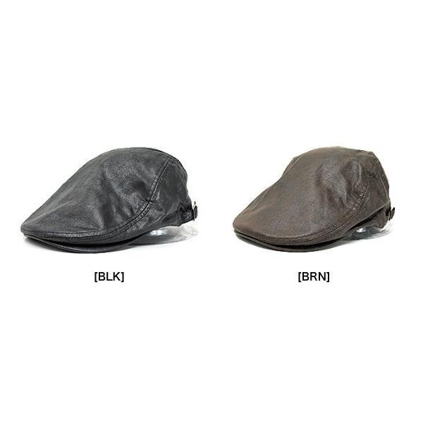 大きいサイズ ビッグサイズ クラックレザーハンチングキャップ 帽子 ct-18bg-2002 20074|gb-int|03