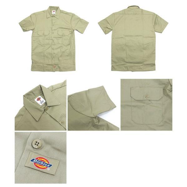 ディッキーズ ワークシャツ 半袖 USAモデル 1574 Dickies  カジュアルシャツ|gb-int|02