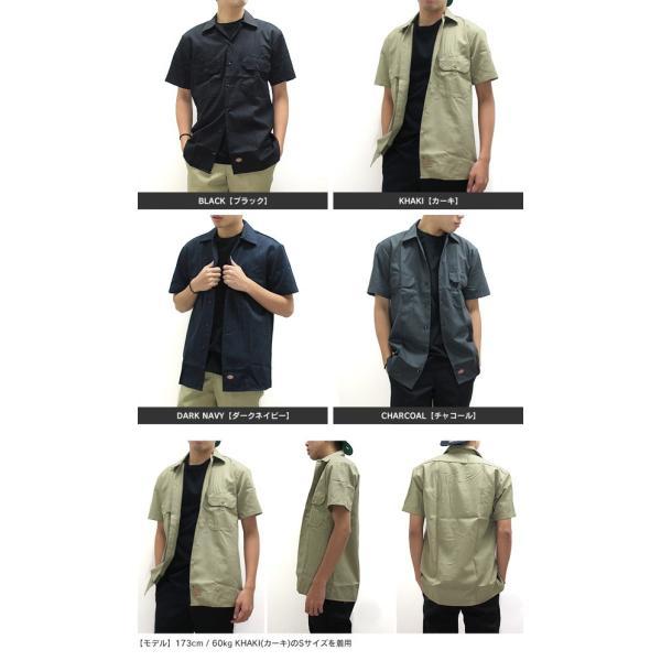 ディッキーズ ワークシャツ 半袖 USAモデル 1574 Dickies  カジュアルシャツ|gb-int|04