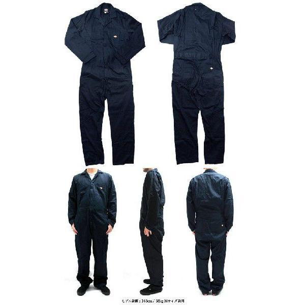 ディッキーズ つなぎ 長袖 4830 48300 Dickies 作業服|gb-int|02