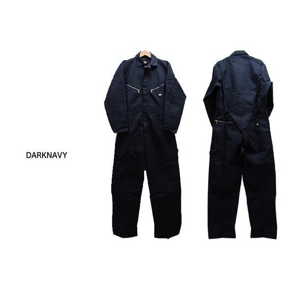 ディッキーズ つなぎ インチサイズ 長袖 ME4879 Dickies 作業服 (返品交換不可)|gb-int|03