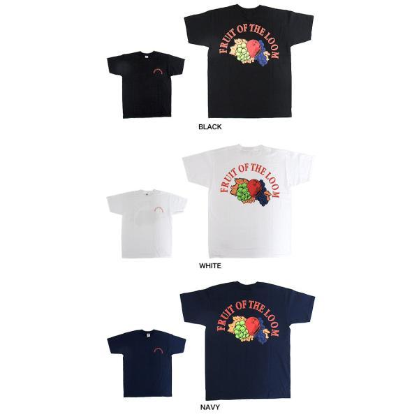 メール便送料無料 FRUIT OF THE LOOM フルーツオブザルーム 0122-513FL6 バックプリントロゴ クルーネック Tシャツ|gb-int|03