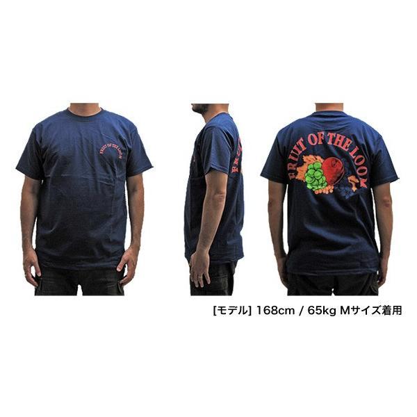 メール便送料無料 FRUIT OF THE LOOM フルーツオブザルーム 0122-513FL6 バックプリントロゴ クルーネック Tシャツ|gb-int|05