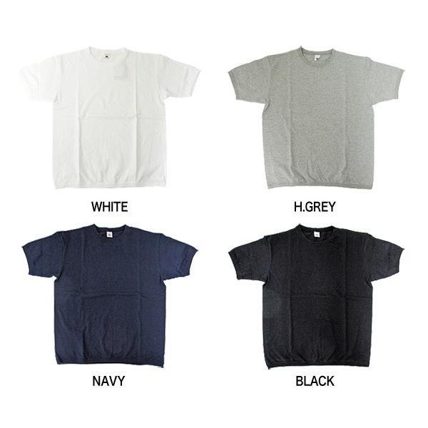 FRUIT OF THE LOOM フルーツオブザルーム リブ付き半袖Tシャツ 無地 クルーネックTシャツ 022-003(メール便対応) gb-int 03