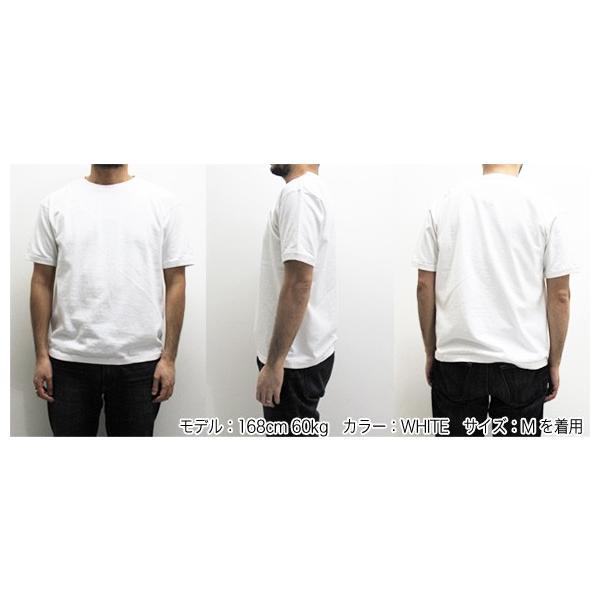 FRUIT OF THE LOOM フルーツオブザルーム リブ付き半袖Tシャツ 無地 クルーネックTシャツ 022-003(メール便対応) gb-int 04