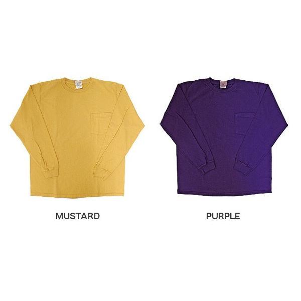 GOODWEAR グッドウェア 長袖 ポケット付きTシャツ 無地(メール便不可)|gb-int|05