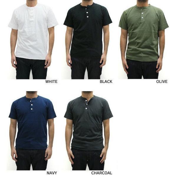 ヘルスニット Healthknit ヘンリーネック Tシャツ 半袖 906S (メール便対応)|gb-int|04