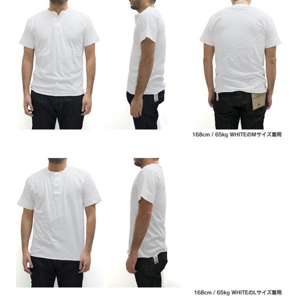 ヘルスニット Healthknit ヘンリーネック Tシャツ 半袖 906S (メール便対応)|gb-int|05