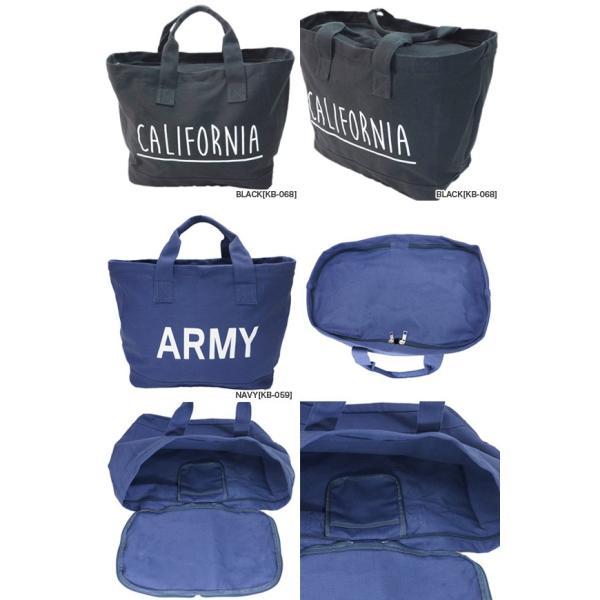keys ランドリーバッグ(ARMY,CALIFOLNIA) マイバッグ エコバッグ レジカゴ トートバッグ KB-059 KB-068|gb-int|02