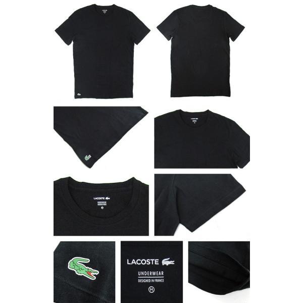 ラコステ LACOSTE 半袖 Tシャツ ワンポイント クルーネック メンズ 男性用 (メール便対応可)|gb-int|02