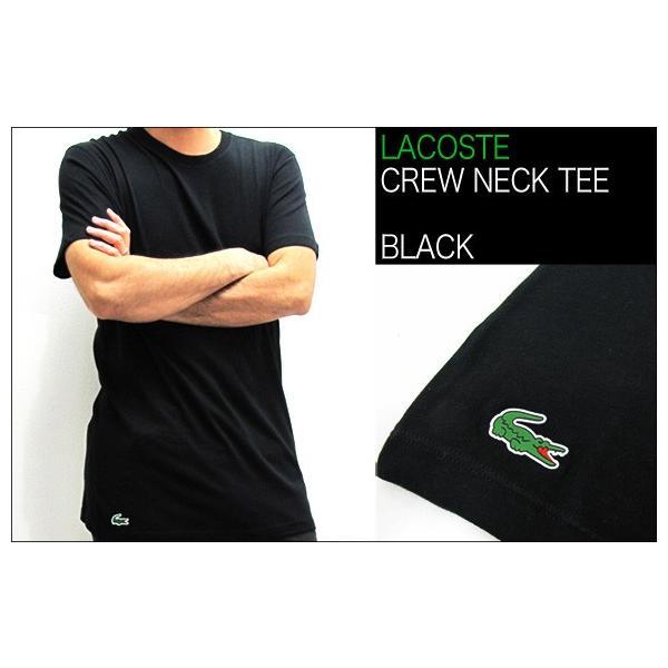 ラコステ LACOSTE 半袖 Tシャツ ワンポイント クルーネック メンズ 男性用 (メール便対応可)|gb-int|06