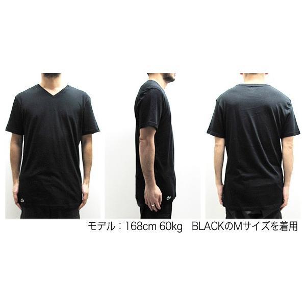ラコステ LACOSTE 半袖 Tシャツ ワンポイント Vネック メンズ 男性用 (メール便対応可)|gb-int|04