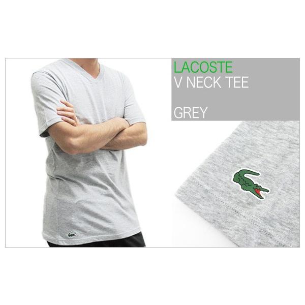ラコステ LACOSTE 半袖 Tシャツ ワンポイント Vネック メンズ 男性用 (メール便対応可)|gb-int|07
