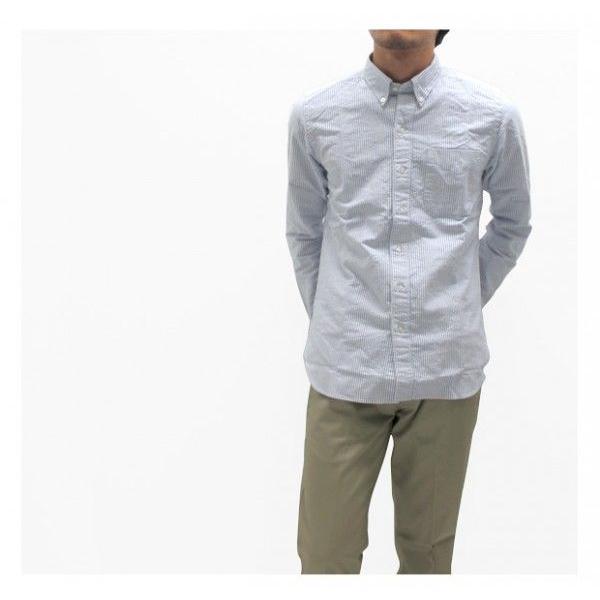 ソンタク シャツ メンズ オックスフォード 長袖ボタンダウンシャツ HD99293|gb-int|05