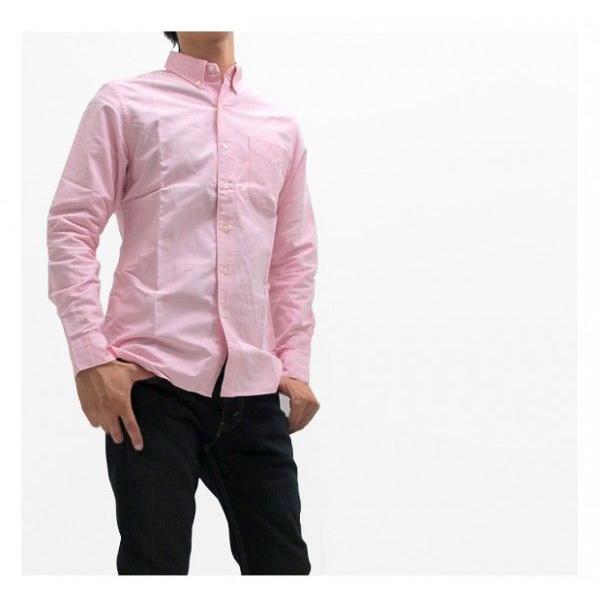 ソンタク シャツ メンズ オックスフォード 長袖ボタンダウンシャツ HD99293|gb-int|06