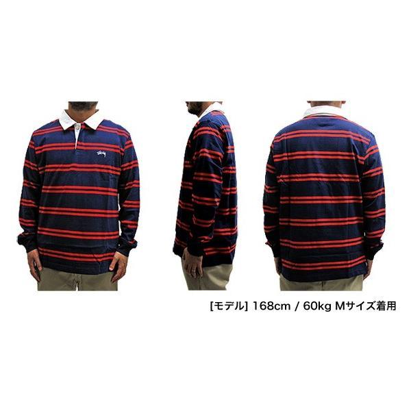 STUSSY ステューシー ラガーシャツ 1140097 DESMOND STRIPE LS RUGBY (メール便不可) gb-int 04