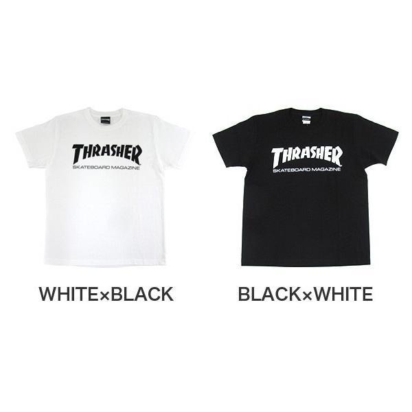1点までメール便送料無料 THRASHER スラッシャー 半袖 マグロゴ Tシャツ メンズ TH8101-F TH8101|gb-int|04