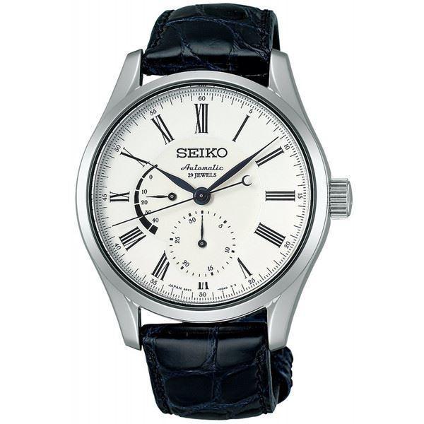 SEIKO 腕時計 PRESAGE プレサージュ 琺瑯ダイヤル メカニカル 自動巻 (手巻つき) カーブサファイアガラス 日常生活用強化防水 (10気圧) SARW011 メンズ