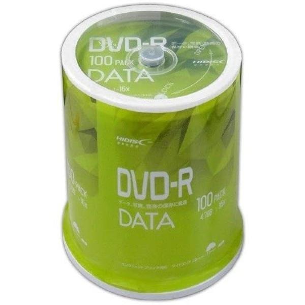 MAG-LAB HI-DISC データ用 16倍速対応DVD-R 100枚 ワイドプリンタブル VVDDR47JP100