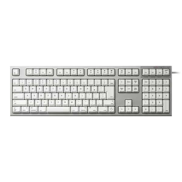 東プレ Mac用キーボード REALFORCE for Mac 標準日本語配列 無接点 APC 静音 昇華印刷 ホワイト R2SA-JP3M-WH|gbft
