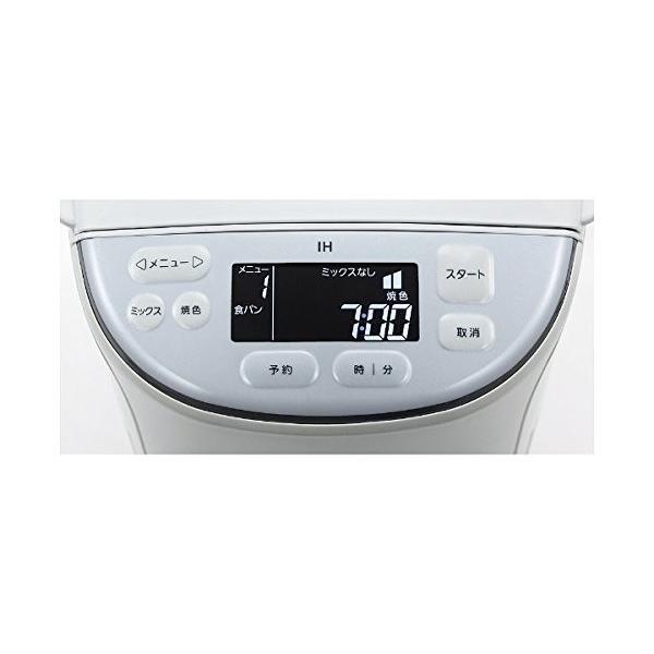 タイガー グランエックス IHホームベーカリー 1斤タイプ フロストホワイト KBD-X100-WF|gbft|03