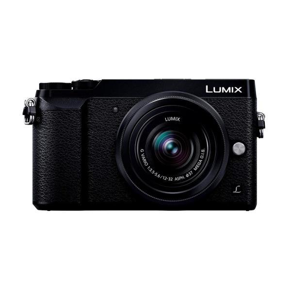 Panasonic ミラーレス一眼カメラ ルミックス GX7MK2 標準ズームレンズキット ブラック DMC-GX7MK2KK