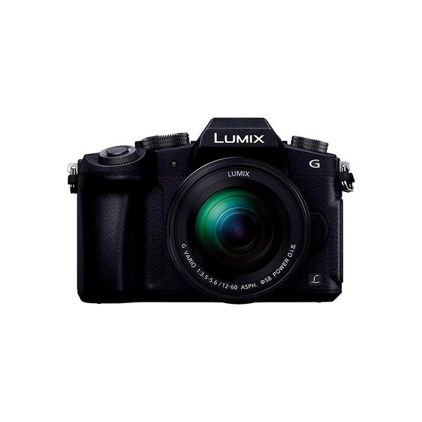 Panasonic ミラーレス一眼カメラ ルミックス G8 レンズキット 標準ズームレンズキット 1600万画素 ブラック DMC-G8M-K