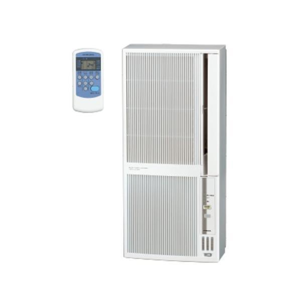 コロナ Corona 窓用エアコン 冷暖房兼用 おもに4.5〜8畳用 シェルホワイト CWH-A1820-WS