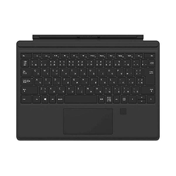 マイクロソフト Proタイプカバー(ブラック)指紋認証付き GK3-00019の画像