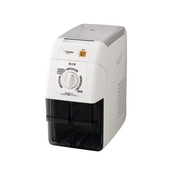 象印 精米機 圧力式 玄米1升 ホワイト BR-WA10-WA|gbft