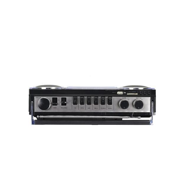 SANSUI Bluetooth搭載ラジカセ USB/SDカードMP3再生対応 SCR-B2(BL)|gbft|03