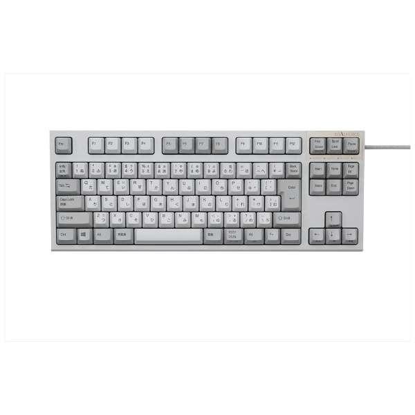 東プレ REALFORCE SA R2 TKL USBキーボード 日本語配列91キー テンキーレス アイボリー R2TLSA-JP3-IV|gbft