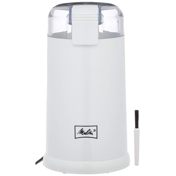 メリタ Melitta 電動 コーヒーミル ホワイト ECG62-3W|gbft