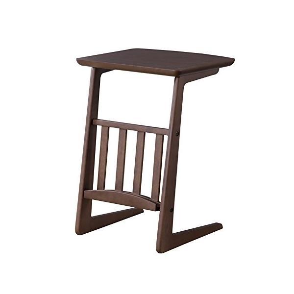 ソファサイドテーブル トムテ ダークブラウン SGS-239DBR|gbft