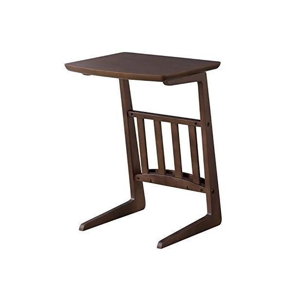 ソファサイドテーブル トムテ ダークブラウン SGS-239DBR|gbft|02