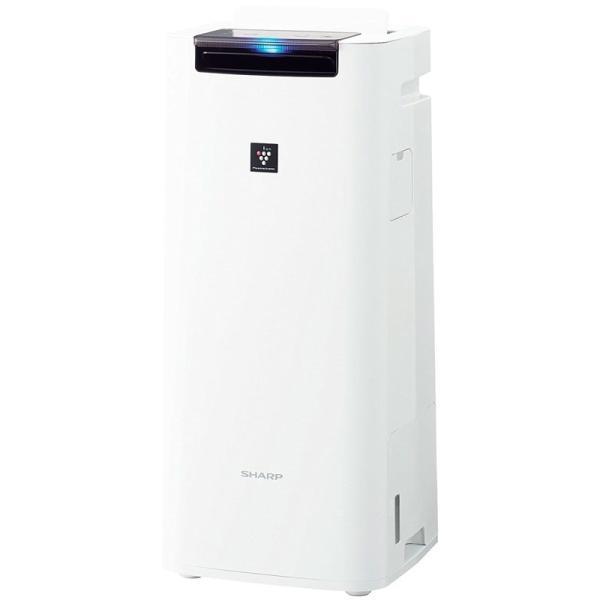 シャープ プラズマクラスター25000搭載 加湿空気清浄機 ホワイト KI-HS40-W|gbft