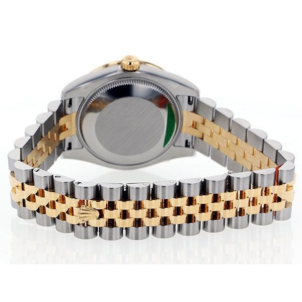 ロレックス デイトジャスト 31 178383 シルバー文字盤 レディース 腕時計 新品