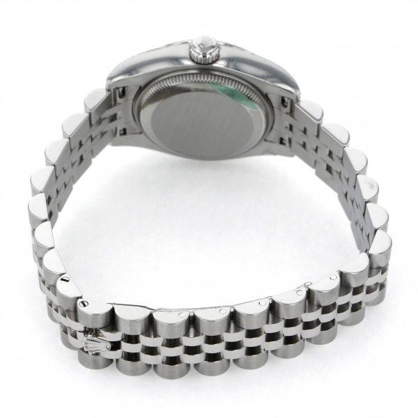 ロレックス デイトジャスト 179174NA ブラックアラビア文字盤 レディース 腕時計 新品