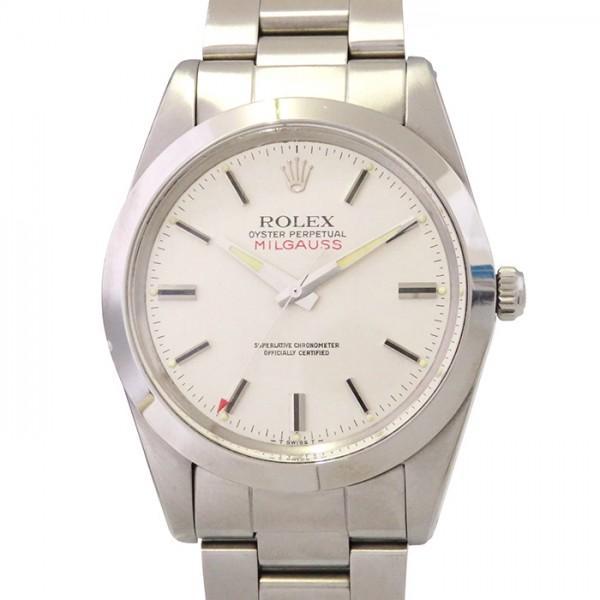 info for b02dd efcf0 ロレックス ミルガウス 1019 シルバー文字盤 メンズ 腕時計 アンティーク