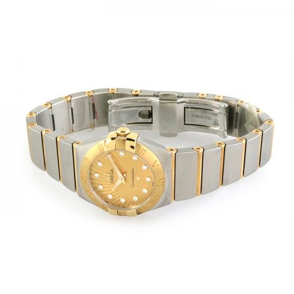 オメガ コンステレーション 123.20.24.60.58.001 シャンパン文字盤 レディース 腕時計 新品