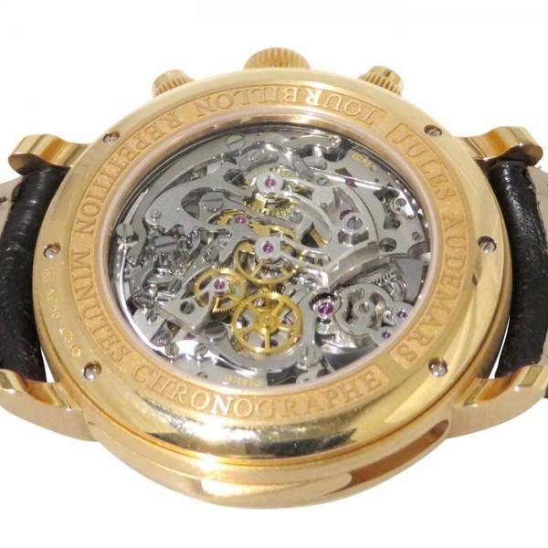 オーデマ・ピゲ ジュールオーデマ ミニッツリピーター トゥールビヨン クロノグラフ 26345OR.OO.D099CR.01 グレー文字盤 メンズ 腕時計 中古 gc-yukizaki 04