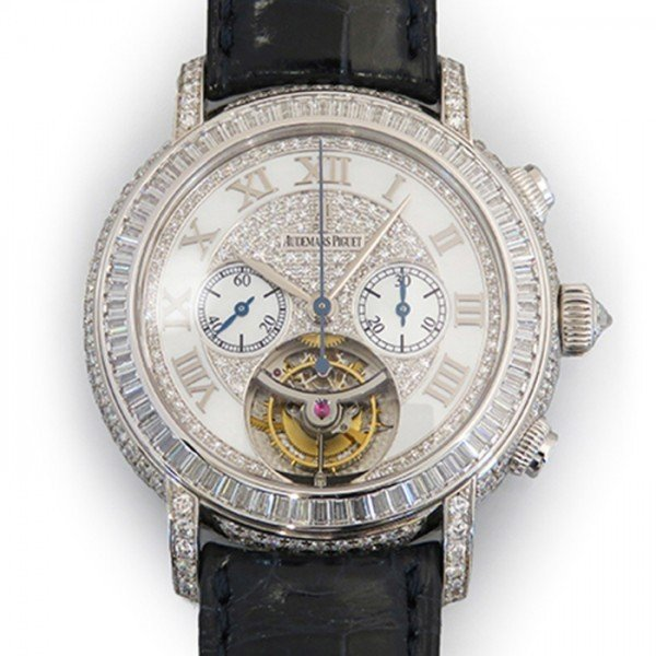 オーデマ・ピゲ ジュールオーデマ トゥールビヨン 26083BC.ZZ.D102CR.01 ホワイト文字盤 メンズ 腕時計 新品|gc-yukizaki