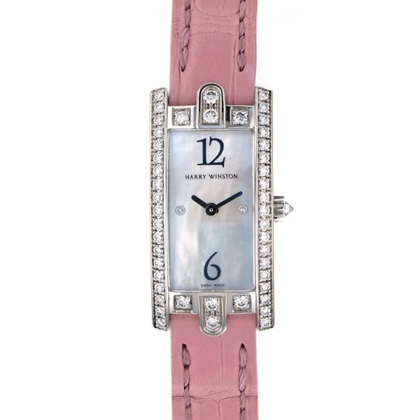 ハリー・ウィンストン アヴェニュー C ミニ 332LQWLMDD3.1 ホワイト文字盤 レディース 腕時計 中古