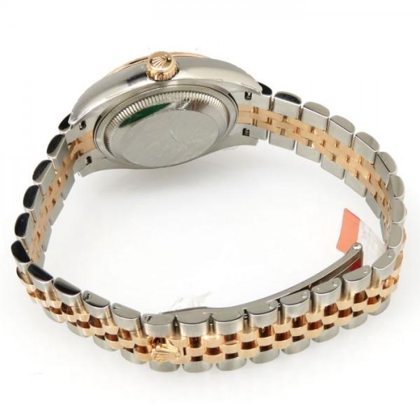 ロレックス デイトジャスト 28 279171 サンダスト文字盤 レディース 腕時計 新品