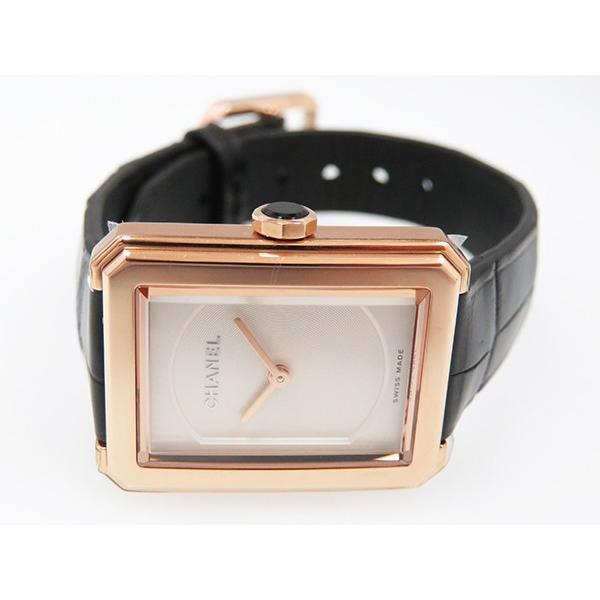 シャネル ボーイフレンド S H4886 オパールホワイト文字盤 レディース 腕時計 新品
